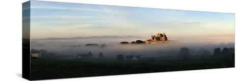 View of a City Through the Fog; Tipperary,Ireland-Design Pics Inc-Stretched Canvas Print
