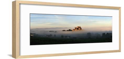 View of a City Through the Fog; Tipperary,Ireland-Design Pics Inc-Framed Art Print
