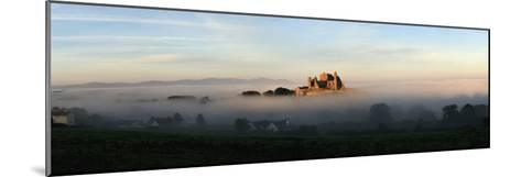 View of a City Through the Fog; Tipperary,Ireland-Design Pics Inc-Mounted Photographic Print