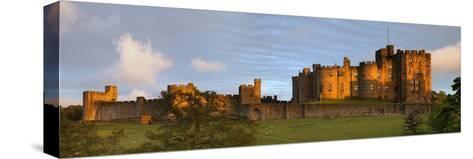 Alnwick Castle; Alnwick, Northumberland, England-Design Pics Inc-Stretched Canvas Print