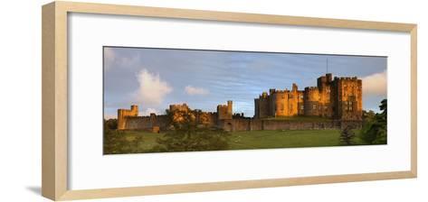 Alnwick Castle; Alnwick, Northumberland, England-Design Pics Inc-Framed Art Print