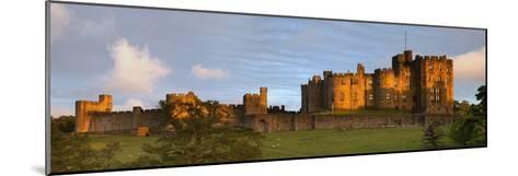 Alnwick Castle; Alnwick, Northumberland, England-Design Pics Inc-Mounted Photographic Print
