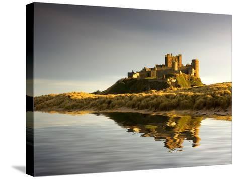Bamburgh Castle; Bamborough, Northumberland, England, Uk-Design Pics Inc-Stretched Canvas Print
