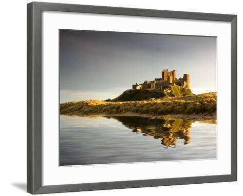 Bamburgh Castle; Bamborough, Northumberland, England, Uk-Design Pics Inc-Framed Art Print