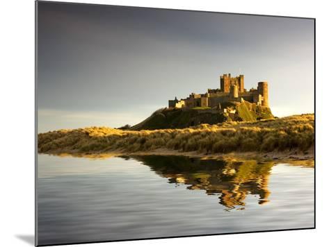 Bamburgh Castle; Bamborough, Northumberland, England, Uk-Design Pics Inc-Mounted Photographic Print