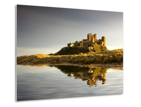 Bamburgh Castle; Bamborough, Northumberland, England, Uk-Design Pics Inc-Metal Print