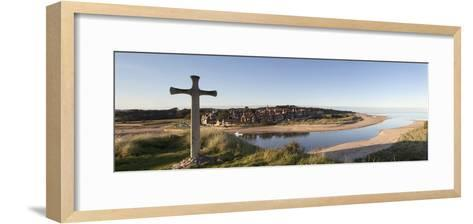 Cross on a Hill; Northumberland, England-Design Pics Inc-Framed Art Print