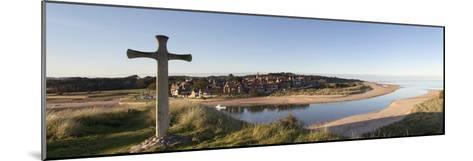 Cross on a Hill; Northumberland, England-Design Pics Inc-Mounted Photographic Print