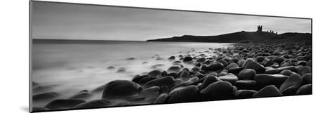 Embleton Bay with Dunstanburgh Castle in Distance, Northumberland,England,Uk-Design Pics Inc-Mounted Photographic Print