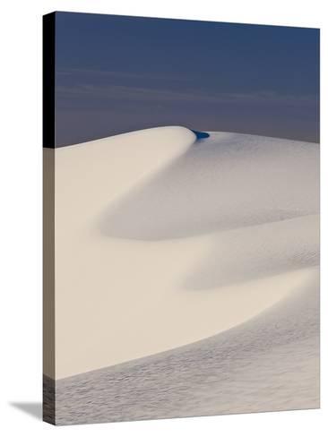 View of White Sand Dune in White Sands National Monument-Derek Von Briesen-Stretched Canvas Print
