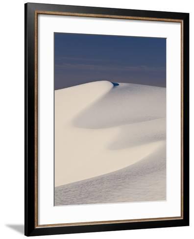 View of White Sand Dune in White Sands National Monument-Derek Von Briesen-Framed Art Print