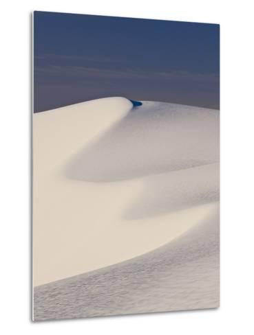 View of White Sand Dune in White Sands National Monument-Derek Von Briesen-Metal Print
