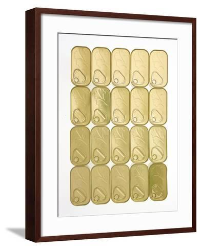 The Lids of Cans of Spam-Rebecca Hale-Framed Art Print
