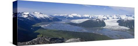 Aerial View of Taku River-Design Pics Inc-Stretched Canvas Print