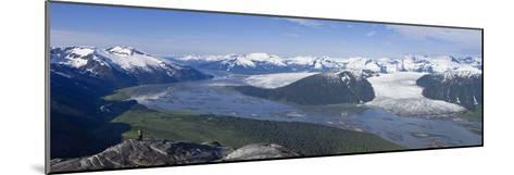 Aerial View of Taku River-Design Pics Inc-Mounted Photographic Print