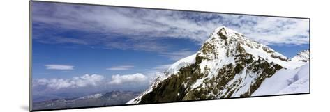 Summit of Monch Mountain in Bernese Alps-Design Pics Inc-Mounted Photographic Print