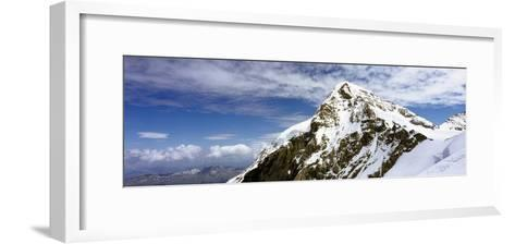Summit of Monch Mountain in Bernese Alps-Design Pics Inc-Framed Art Print