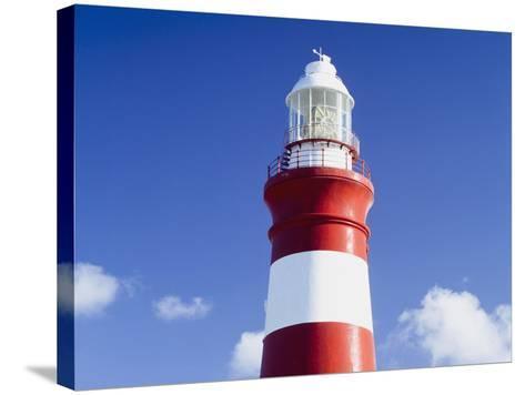Lighthouse,Cape Agulhas,South Africa-Design Pics Inc-Stretched Canvas Print