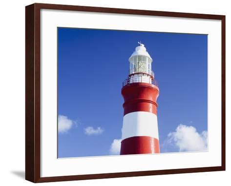 Lighthouse,Cape Agulhas,South Africa-Design Pics Inc-Framed Art Print
