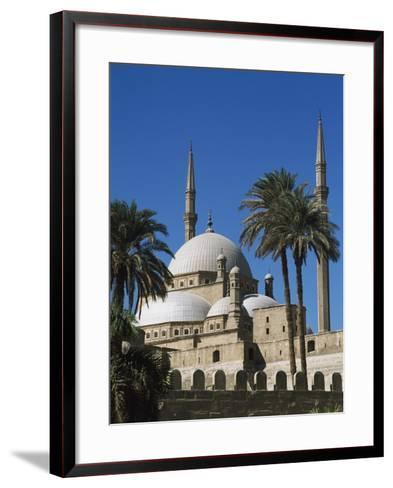 Mohammed Ali Mosque in Citadel of Cairo-Design Pics Inc-Framed Art Print