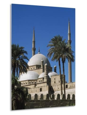 Mohammed Ali Mosque in Citadel of Cairo-Design Pics Inc-Metal Print