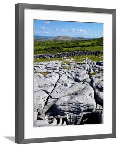 A View Towards Mullaghmore in the Burren, County Clare, Ireland-Chris Hill-Framed Art Print