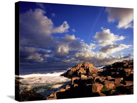 Giant's Causeway on the North Coast of Northern Ireland-Chris Hill-Stretched Canvas Print