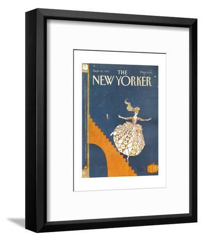 The New Yorker Cover - September 28, 1992-Victoria Roberts-Framed Art Print