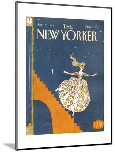 The New Yorker Cover - September 28, 1992-Victoria Roberts-Mounted Premium Giclee Print