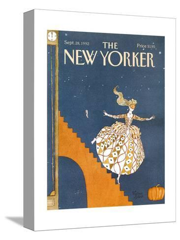 The New Yorker Cover - September 28, 1992-Victoria Roberts-Stretched Canvas Print