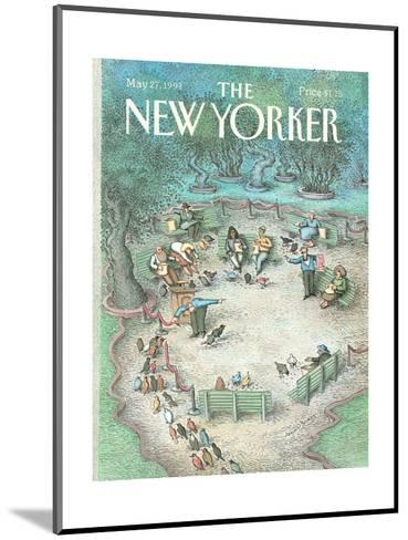 The New Yorker Cover - May 27, 1991-John O'brien-Mounted Premium Giclee Print