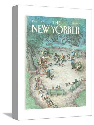 The New Yorker Cover - May 27, 1991-John O'brien-Stretched Canvas Print