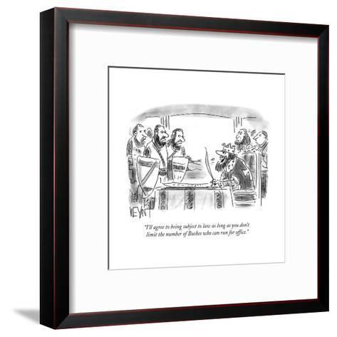 Cartoon-Christopher Weyant-Framed Art Print