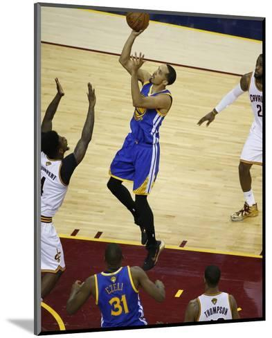 2015 NBA Finals - Game Six-Gregory Shamus-Mounted Photo