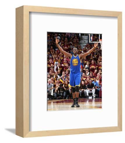 2015 NBA Finals - Game Six-Nathaniel S Butler-Framed Art Print