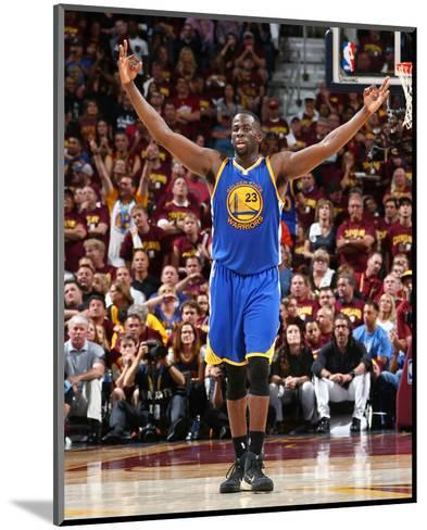 2015 NBA Finals - Game Six-Nathaniel S Butler-Mounted Photo