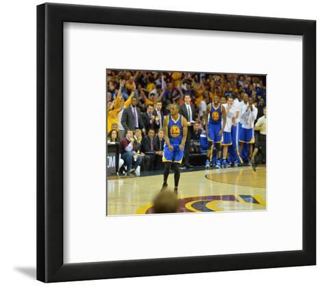 2015 NBA Finals - Game Six-Jesse D Garrabrant-Framed Art Print
