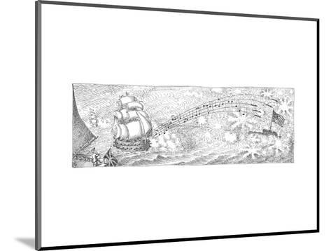 Cartoon-John O'brien-Mounted Premium Giclee Print