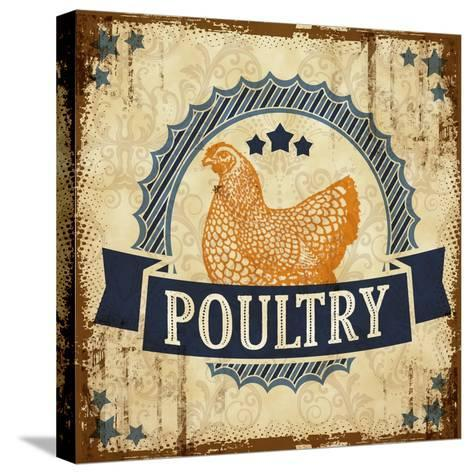 Poultry 1--Stretched Canvas Print