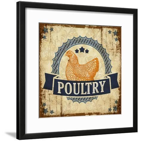 Poultry 1--Framed Art Print