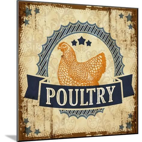 Poultry 1--Mounted Giclee Print
