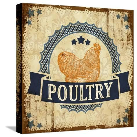 Poultry 2--Stretched Canvas Print