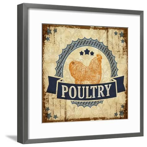 Poultry 2--Framed Art Print