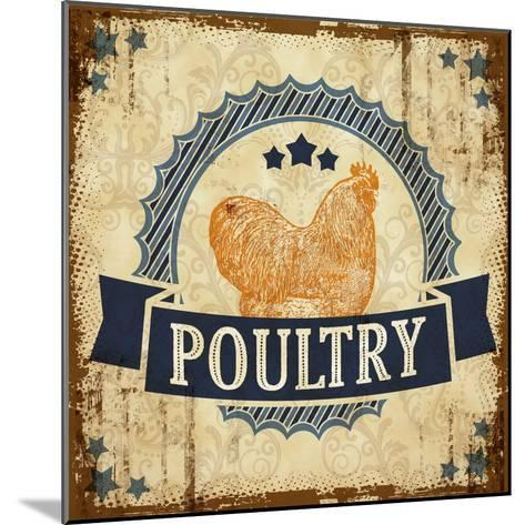 Poultry 2--Mounted Giclee Print