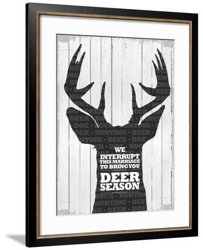 Deer Season 1--Framed Art Print