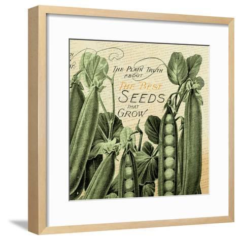 Seeds 1--Framed Art Print