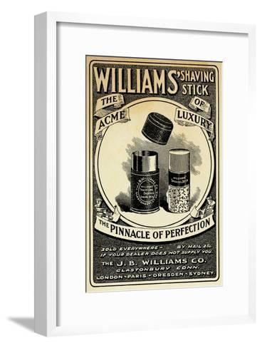 Williams Shaving Stick--Framed Art Print