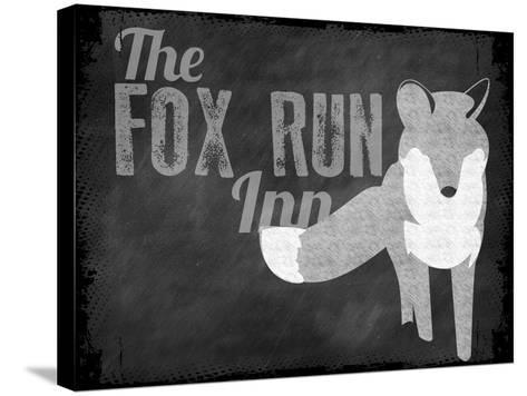 Fox Run Inn--Stretched Canvas Print