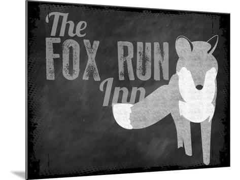 Fox Run Inn--Mounted Giclee Print
