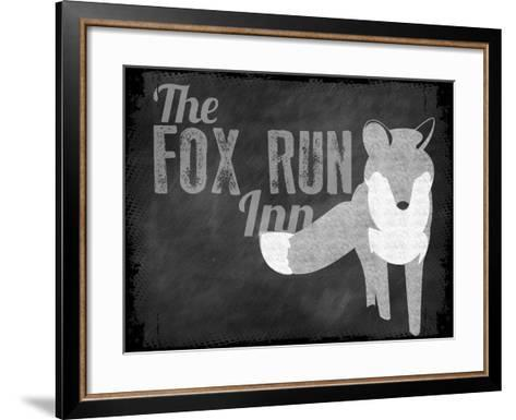 Fox Run Inn--Framed Art Print